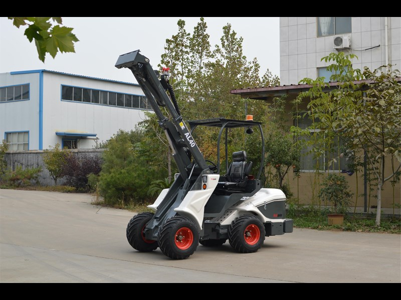 ozziquip al40 articulated loader with telescopic boom 759131 003