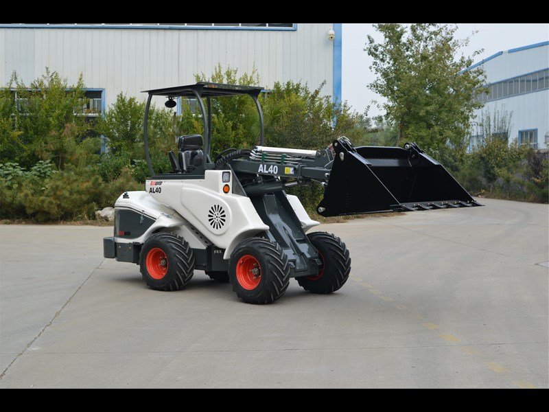 ozziquip al40 articulated loader with telescopic boom 759131 009