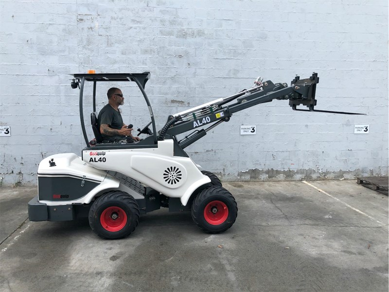 ozziquip al40 articulated loader with telescopic boom 759131 037