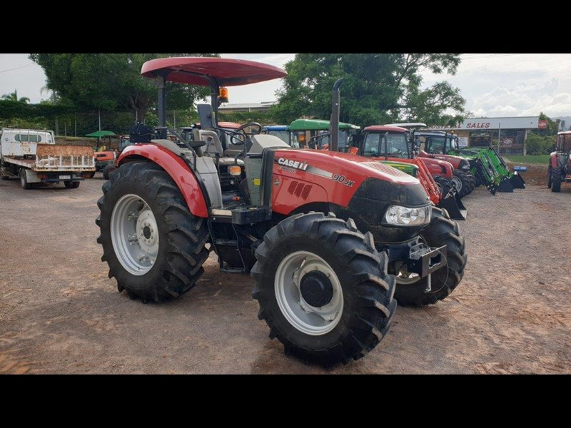 case ih jx90 4wd tractor 767512 005
