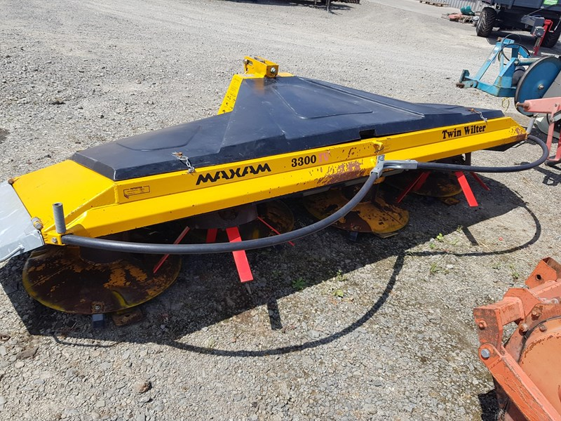 maxam 3300 iv mower + twin wilter 767792 003