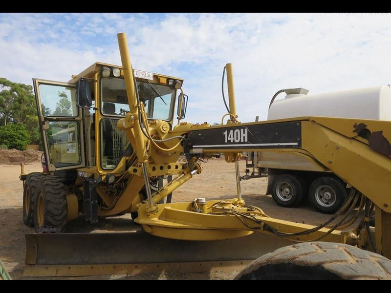 caterpillar 140h vhp series 2 771486 005