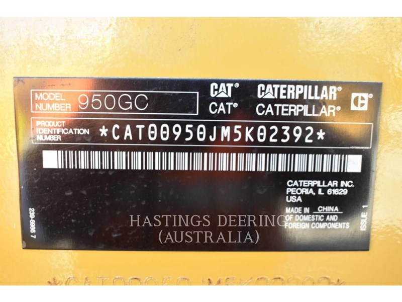 caterpillar 950gc 779878 045