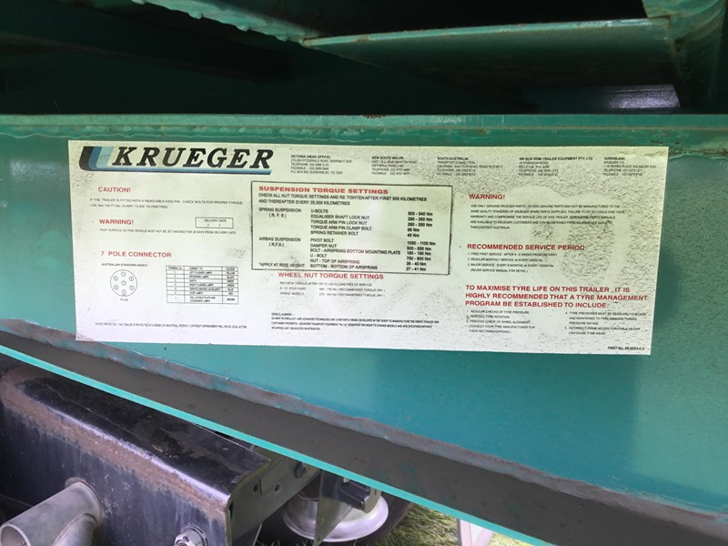 krueger flat top a or skel trailer 782358 027