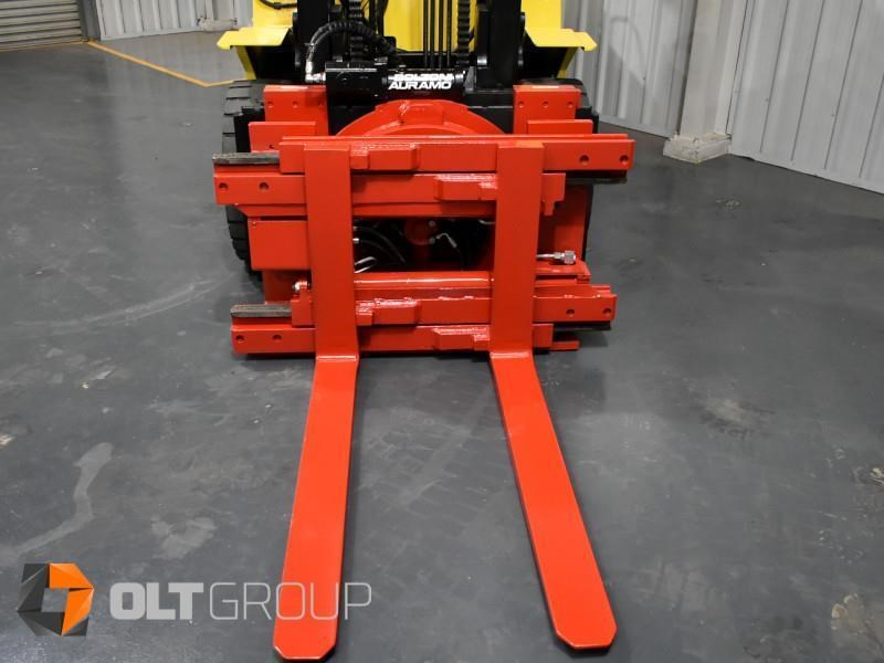 hyster h5.00dx with rotating pallet fork attachment 783107 009