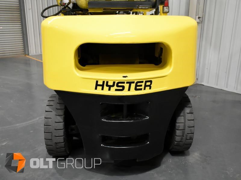hyster h5.00dx with rotating pallet fork attachment 783107 019