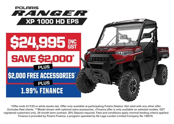 polaris ranger xp 1000 hd eps 728238 001