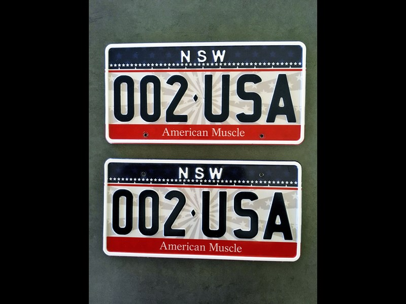 number plates nsw american muscle car 794531 001