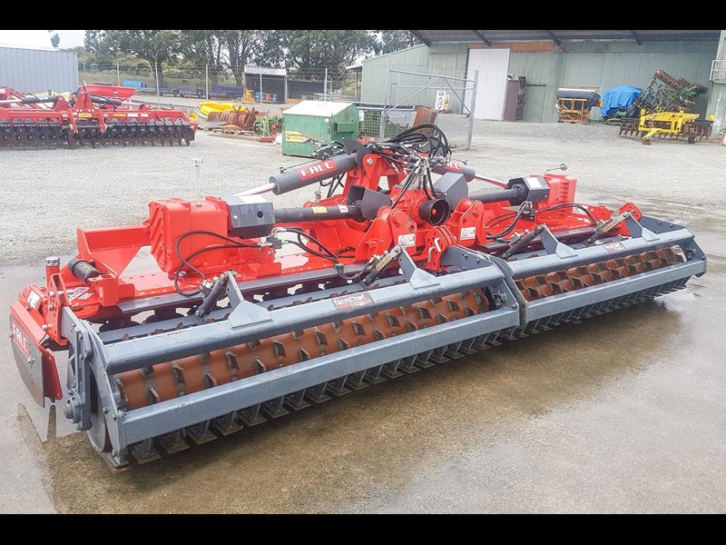 falc kratos 5000p folding power harrow 800745 009