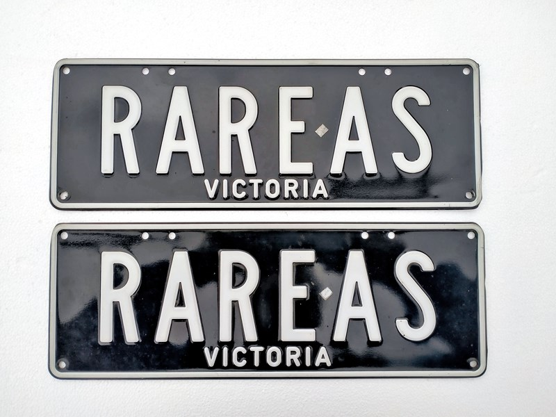 number plates rare as 805682 001