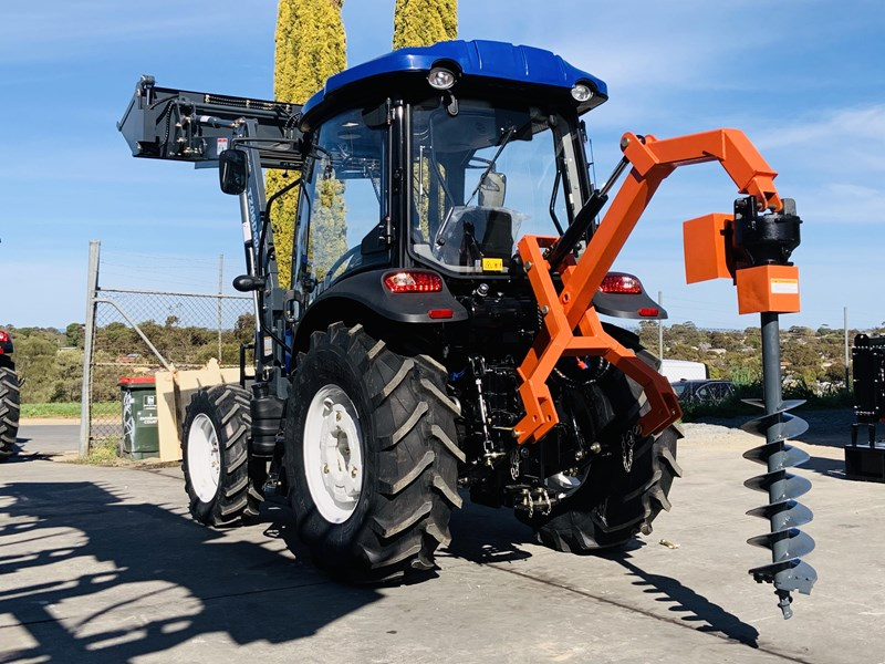 trident 65hp tractor with fel 4in1 bucket 784545 087