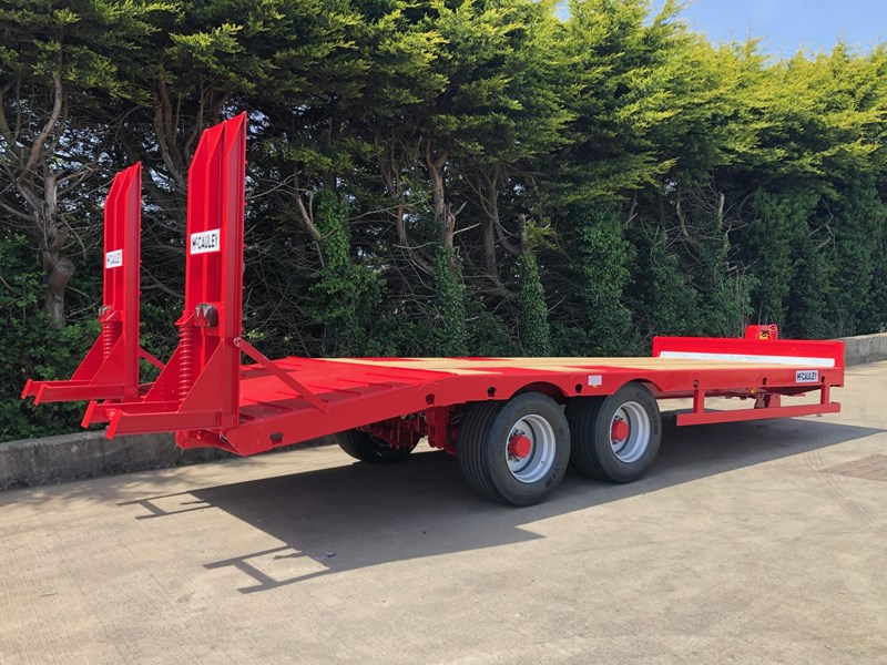mccauley 2 axle tandem low loader (ullt) 808817 019
