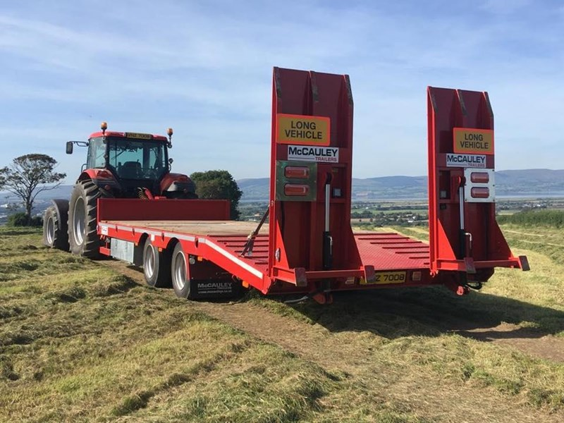mccauley 2 axle tandem low loader (ullt) 808817 029