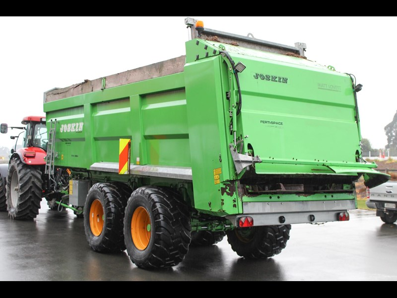 joskin ferti-space 22t horizon fs7014/25bu muck spreader 809046 003