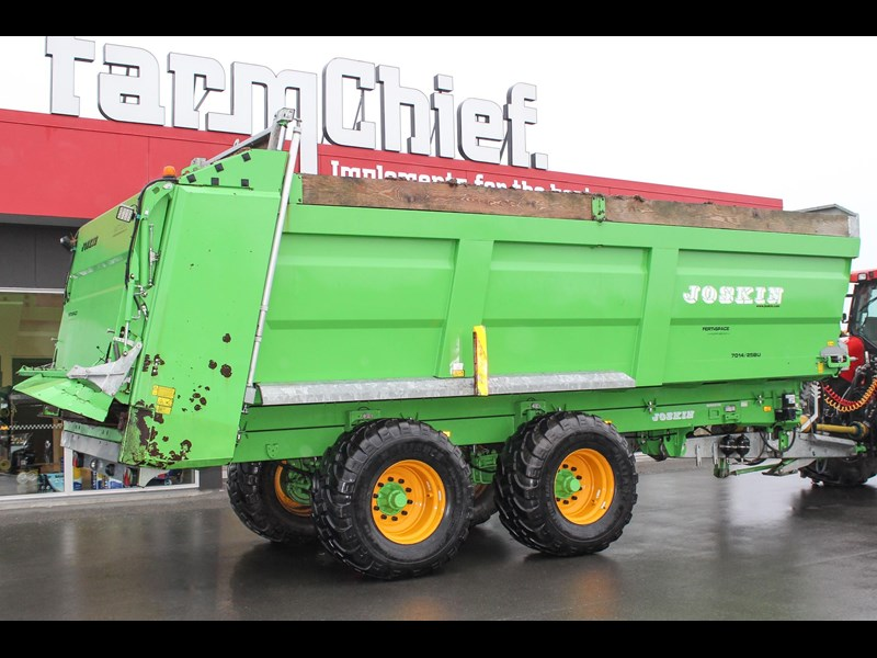 joskin ferti-space 22t horizon fs7014/25bu muck spreader 809046 009