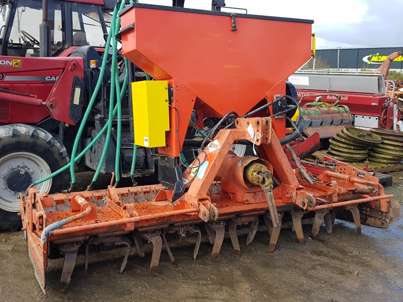 kuhn 3.0m power harrow + seeder 809104 001