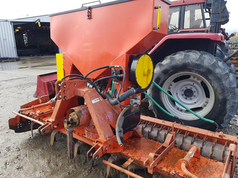 kuhn 3.0m power harrow + seeder 809104 007
