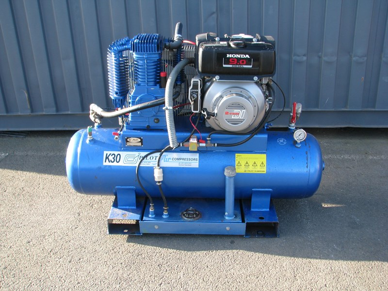 pilot k30d 200l 9hp diesel air compressor 809614 001