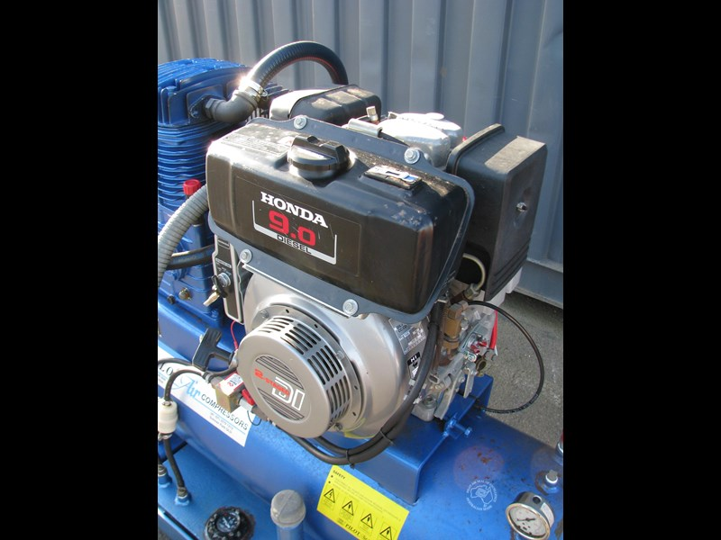 pilot k30d 200l 9hp diesel air compressor 809614 005