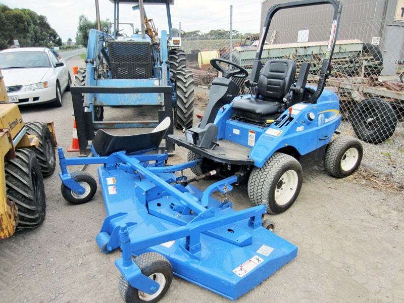 new holland mc28 front mount mower 4 wheel drive 807972 001