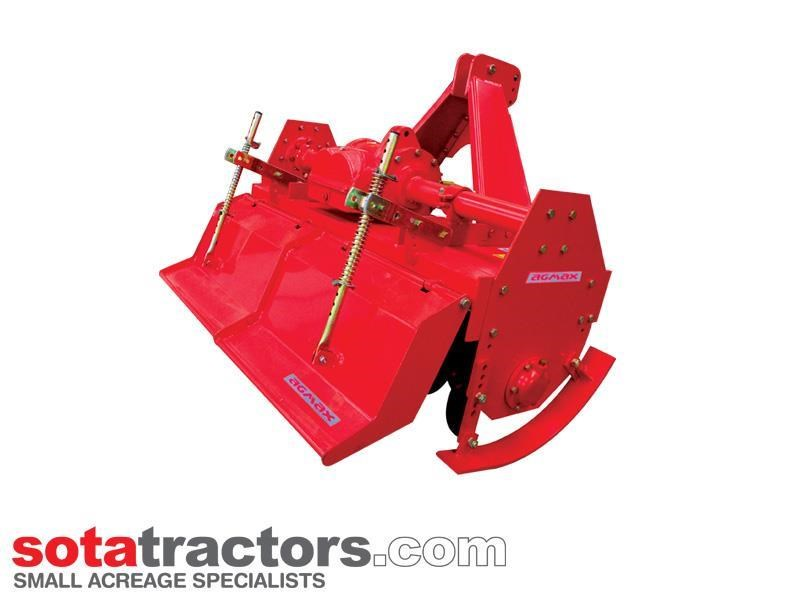 agmax rh130 commercial rotary hoe 1.3m 810514 001