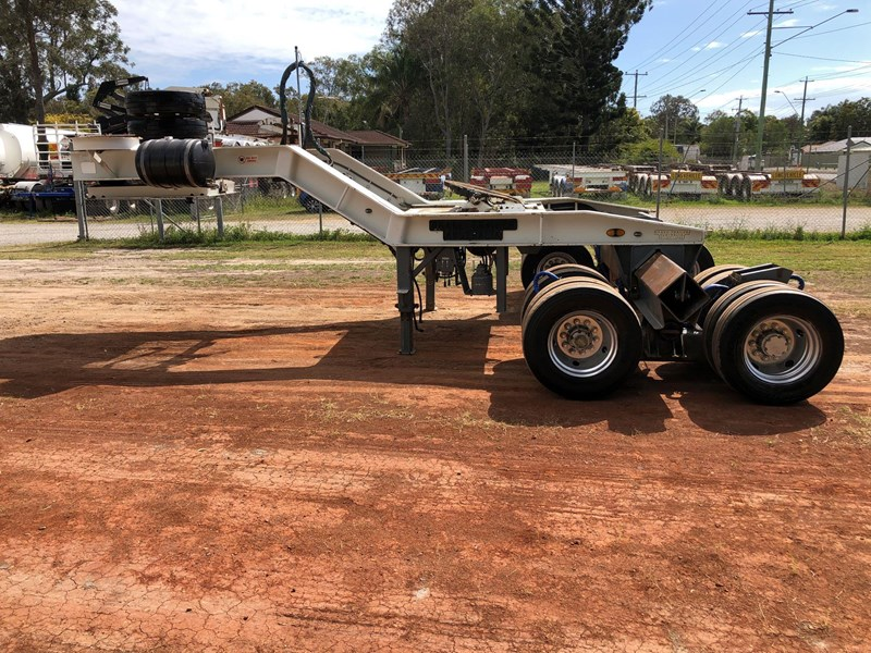 drake 2x8 hydraulic widening low loader dolly 811278 011