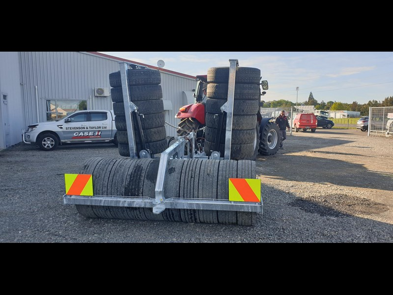 s&t engineering 5.3 meter folding tyre packer roller 813988 009