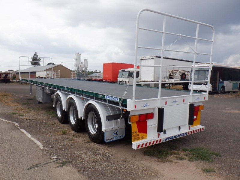 maxitrans 45ft flat top semi trailer 769196 015