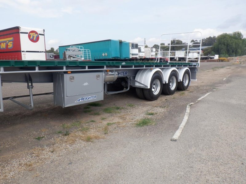 maxitrans 45ft flat top semi trailer 769196 009