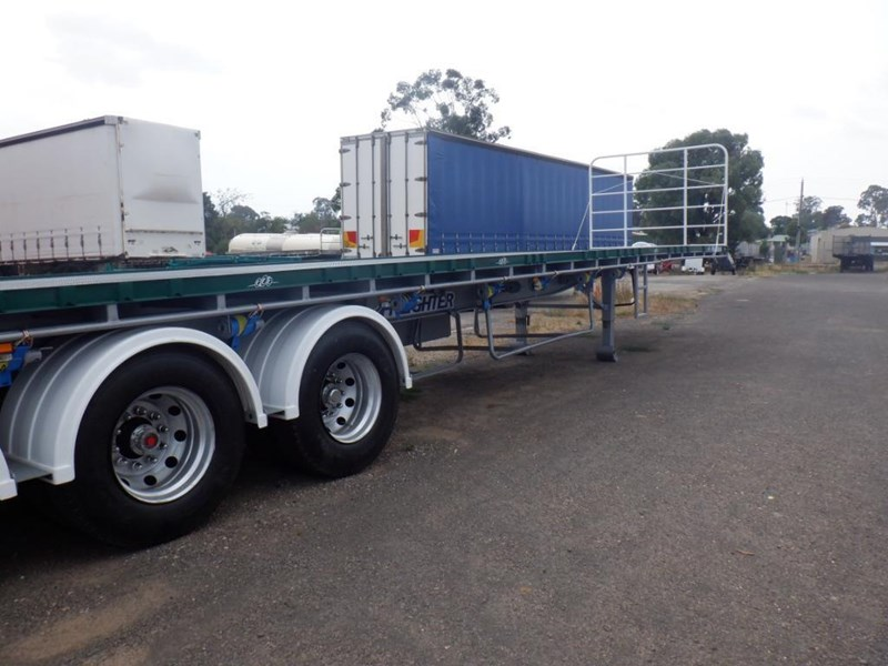 maxitrans 45ft flat top semi trailer 769196 021