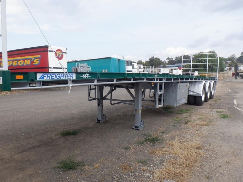 maxitrans 45ft flat top semi trailer 769196 005