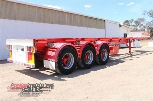 krueger semi 40ft skel semi trailer 338274 005