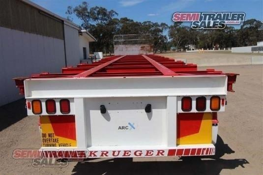 krueger semi 40ft skel semi trailer 338274 009