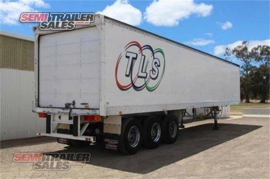 maxi-cube semi 45ft pantech semi trailer 341718 005