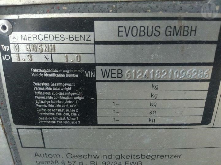 mercedes-benz volgren 0405 fleet # 1179 824061 031