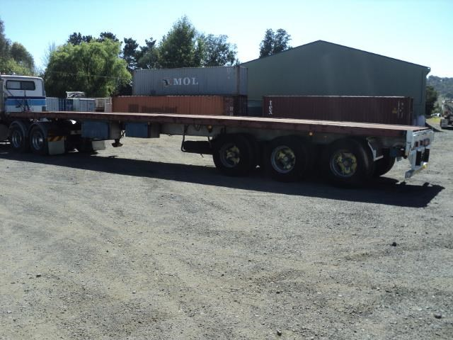 krueger 45ft flat top semi trailer 828685 001