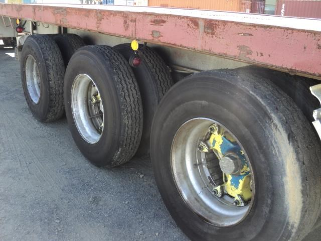krueger 45ft flat top semi trailer 828685 017