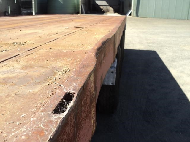 krueger 45ft flat top semi trailer 828685 025
