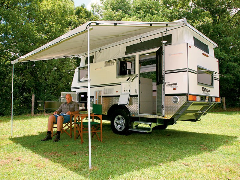 Camper Trailers for Comfortable Camping