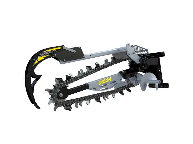 digga bigfoot hydrive trencher xd 1200  45412 001