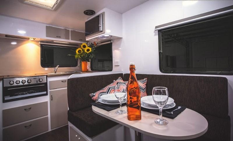 New JACKAROO Retro Caravans For Sale