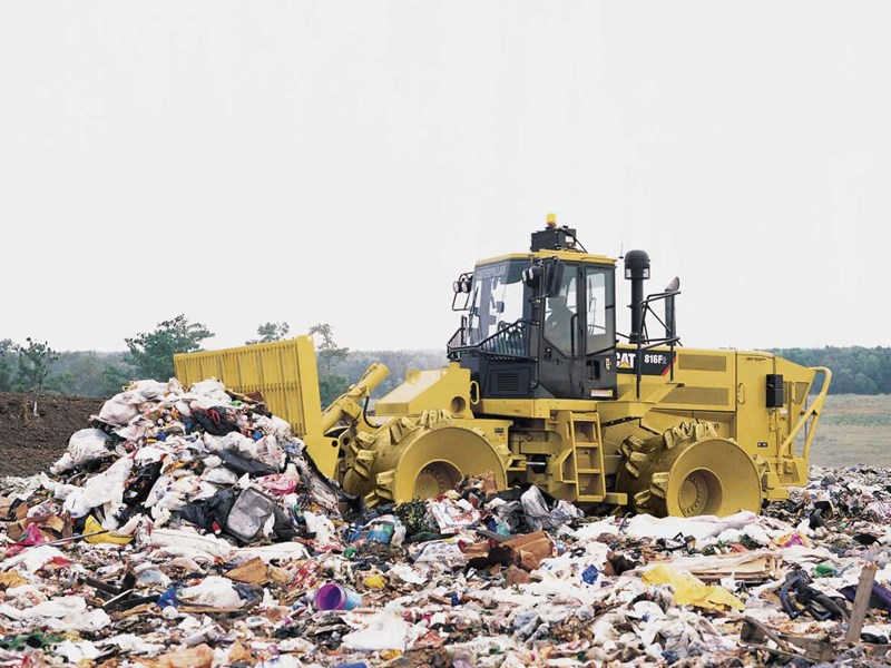 caterpillar 816f series 2 landfill 37369 001