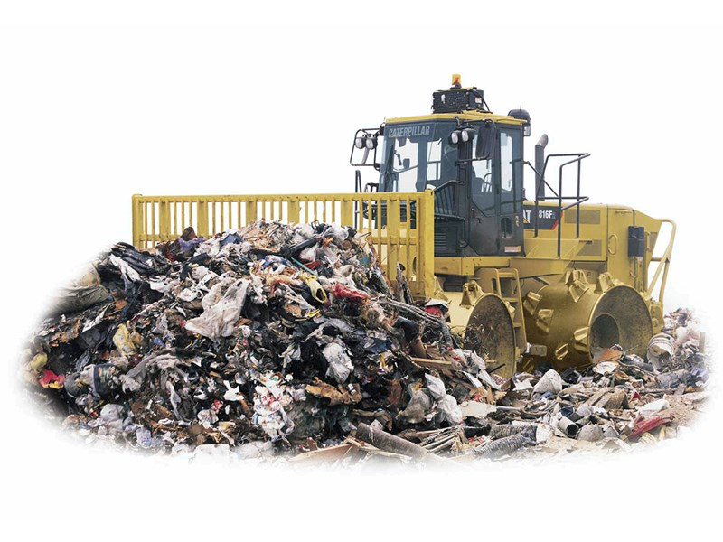 caterpillar 816f series 2 landfill 37369 003