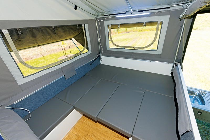 Fantastic Camper Trailers For Sale In Brisbane Hard Floor Camper Trailers In