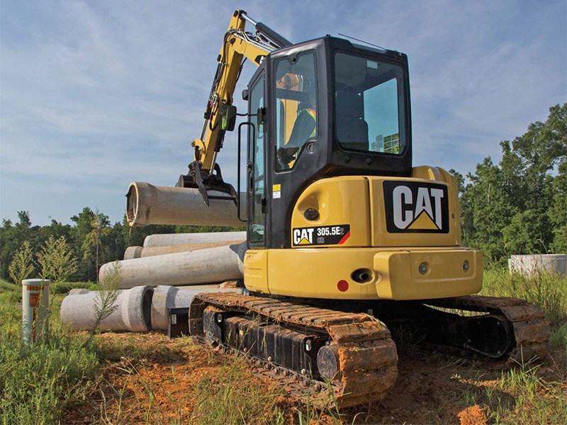 caterpillar 305.5e2 cr 54231 007