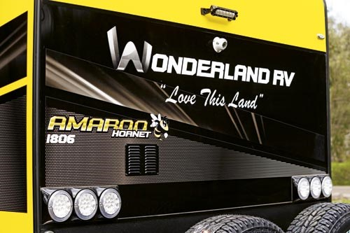 wonderland amaroo hornet limited edition 60107 005