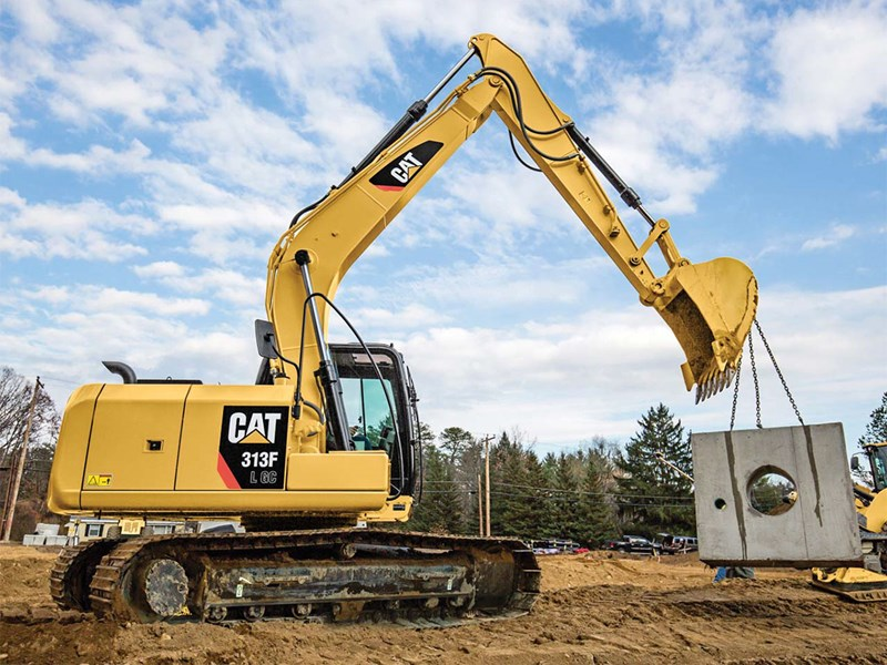 caterpillar 313f l gc 61455 001