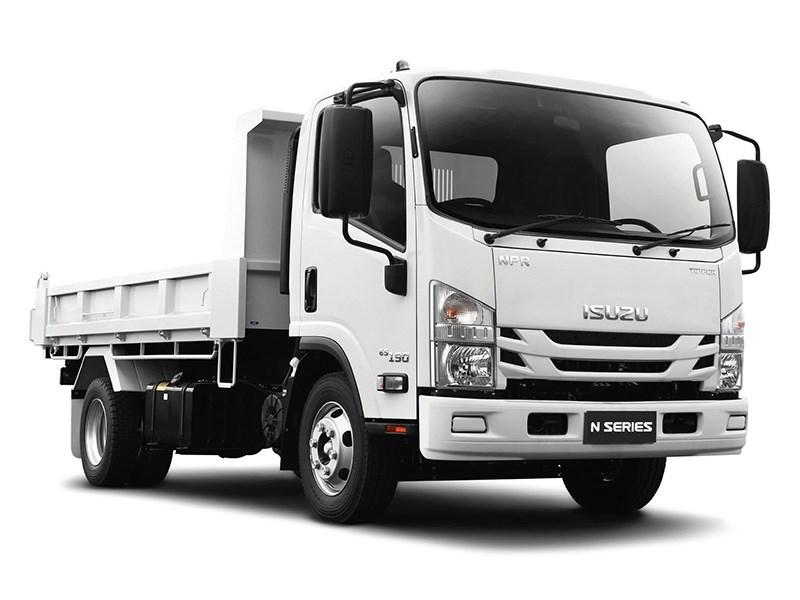 New ISUZU NPR 45-190 Tipper Trucks for sale