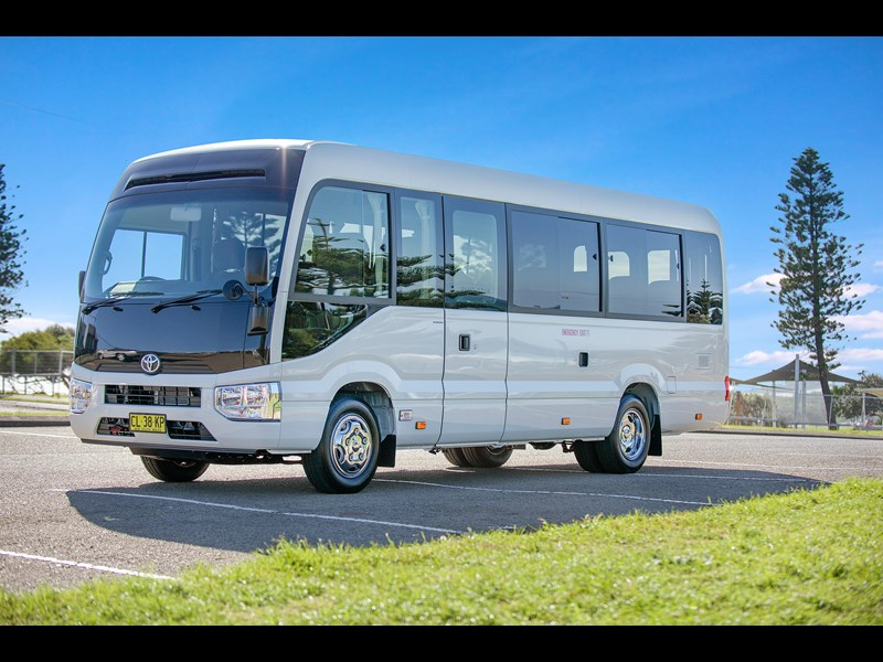 d01c72f887 New TOYOTA Coaster Buses for sale