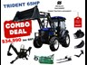 trident 65hp eofy combo deal (fel + backhoe + slasher +forks) 649853 002